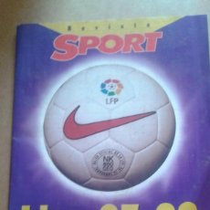 Coleccionismo deportivo: REVISTA SPORT LIGA 97-98. Lote 147682590