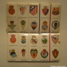 Coleccionismo deportivo: LIGA NACIONAL DE PRIMERA DIVISION 1981-1982 CAJAS DE CERILLAS CON TODOS LOS ESCUDOS. Lote 147712866