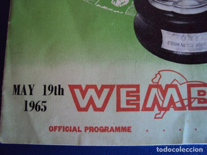 Coleccionismo deportivo: (F-190171)PROGRAMA OFICIAL EUROPEAN WINNERS CUP FINAL.TSV MUNCHEN - AUTOGRAFOS WEST HAM UNITED 1965 - Foto 3 - 147895558