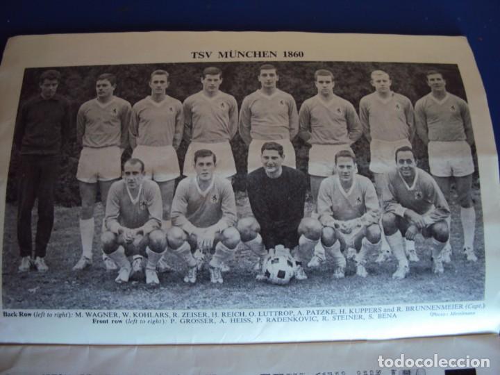 Coleccionismo deportivo: (F-190171)PROGRAMA OFICIAL EUROPEAN WINNERS CUP FINAL.TSV MUNCHEN - AUTOGRAFOS WEST HAM UNITED 1965 - Foto 5 - 147895558