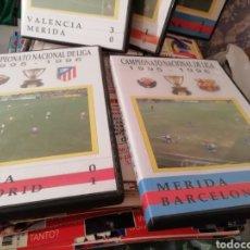 Coleccionismo deportivo: VIDEOTECA HISTORICA MERIDA Y EXTREMADURA. AÑOS 95 AL 99.. Lote 148107305
