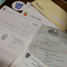 Coleccionismo deportivo: FEDERACIÓ CATALANA BASQUETBOL- INSCRIPCIÓ CLÍNIC FINAL FOUR (ENTRENADORES BALONCESTO), 1990.. Lote 150930530