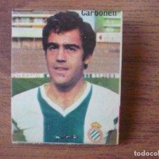 Collectionnisme sportif: CAJA CERILLAS RADIANT DYNAMIC CARBONELL (ESPANYOL ESPAÑOL) LIGA FUTBOL AÑOS 70 CROMOS. Lote 150994958