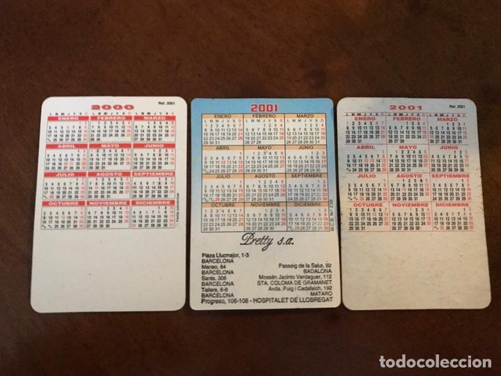 Coleccionismo deportivo: Lote 19 calendarios de bolsillo FC Barcelona. Todos diferentes. - Foto 6 - 151108936