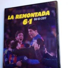 Coleccionismo deportivo: LA REMONTADA 6-1 - FC BARCELONA - DVD PRECINTADO . Lote 151844022