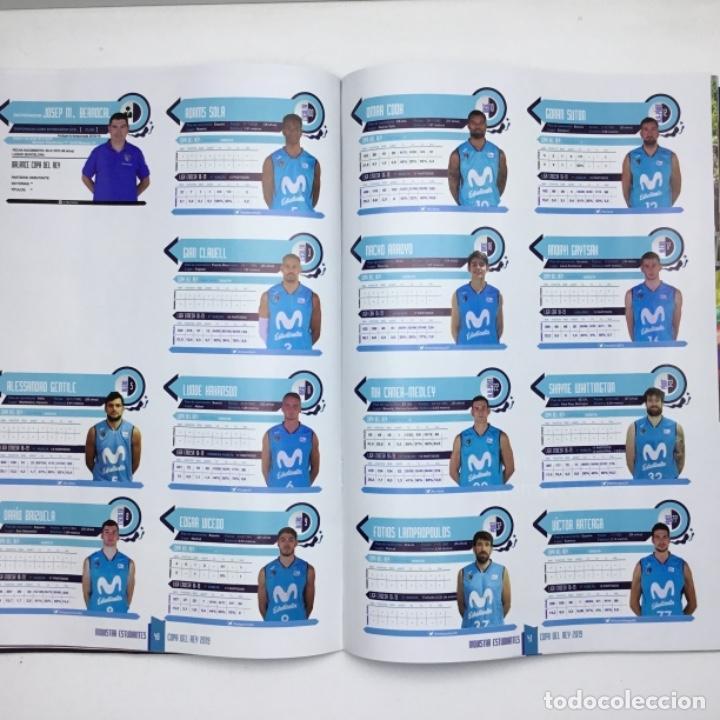Coleccionismo deportivo: PROGRAMA OFICIAL COPA DEL REY 2019 - BALONCESTO - ACB - MADRID - Foto 13 - 152032106