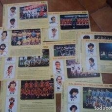 Coleccionismo deportivo: LOTE DE 11. FICHAS MUNDIAL 82. ESPAÑA. SUPERMERCADOS ALDI. MUY DIFÍCILES DE CONSEGUIR.. Lote 152391858