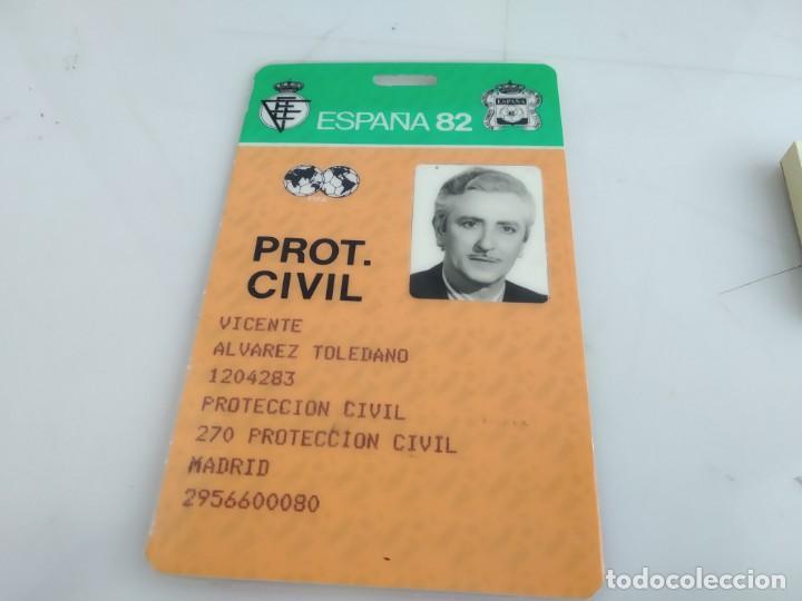 ANTIGUO CARNET DE ESPAÑA 82 (Coleccionismo Deportivo - Documentos de Deportes - Otros)