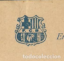Coleccionismo deportivo: FUTBOL CLUB BARCELONA-CEDULA DE COOPERACIO-GENER ANY 1924-(57.557) - Foto 2 - 154314954
