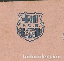 Coleccionismo deportivo: FUTBOL CLUB BARCELONA-CEDULA DE COOPERACIO-GENER ANY 1922-(57.558) - Foto 2 - 154315034