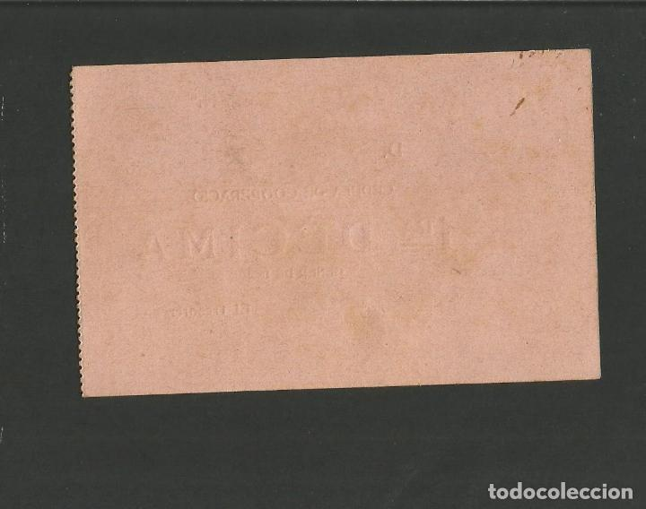 Coleccionismo deportivo: FUTBOL CLUB BARCELONA-CEDULA DE COOPERACIO-GENER ANY 1922-(57.558) - Foto 3 - 154315034