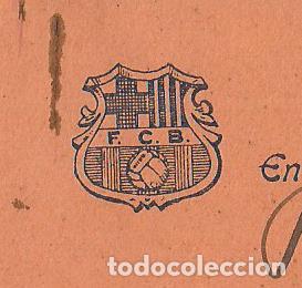 Coleccionismo deportivo: FUTBOL CLUB BARCELONA-CEDULA DE COOPERACIO-GENER ANY 1925-(57.559) - Foto 2 - 154315170