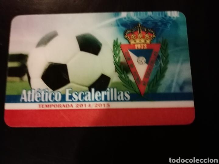 CARNET FÚTBOL SORTEO ATLÉTICO ESCALERILLAS ZARAGOZA (Coleccionismo Deportivo - Documentos de Deportes - Otros)