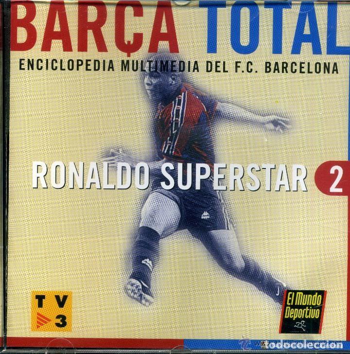 CD PC ORDENADOR BARÇA TOTAL ENCICLOPEDIA BARCELONA FUTBOL Nº2 (Coleccionismo Deportivo - Documentos de Deportes - Otros)