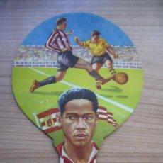 Coleccionismo deportivo: PAYPAY ABANICO DE CHICHA DEL ATLÉTICO TETUÁN. Lote 155652998