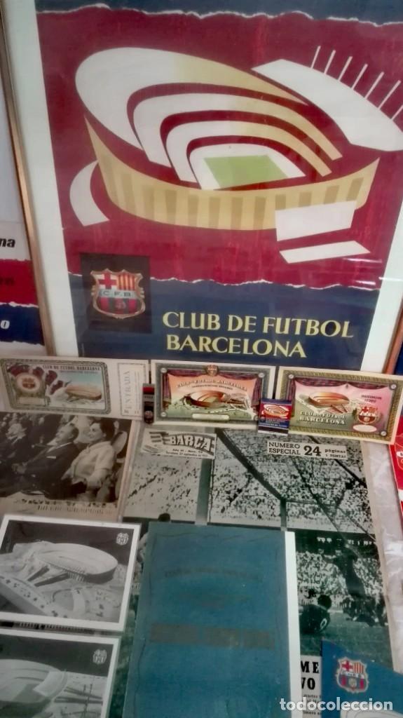 Coleccionismo deportivo: Espectacular lote con motivo de la Inauguración del Camp Nou en 1957 - Foto 2 - 155867590