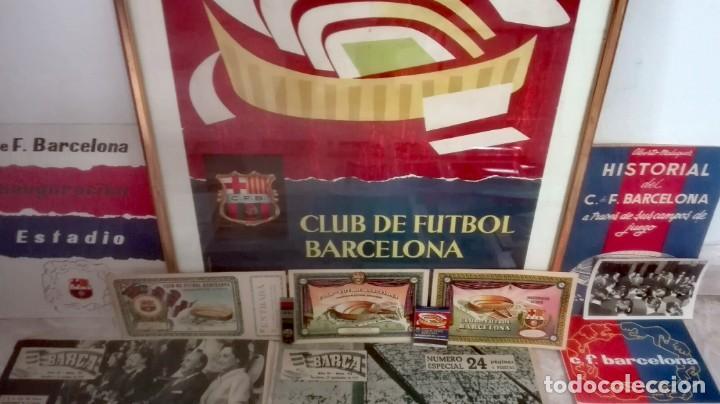 Coleccionismo deportivo: Espectacular lote con motivo de la Inauguración del Camp Nou en 1957 - Foto 3 - 155867590