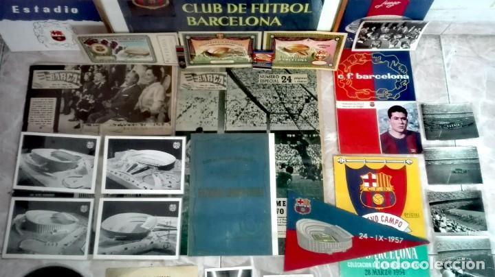 Coleccionismo deportivo: Espectacular lote con motivo de la Inauguración del Camp Nou en 1957 - Foto 4 - 155867590