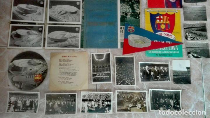 Coleccionismo deportivo: Espectacular lote con motivo de la Inauguración del Camp Nou en 1957 - Foto 5 - 155867590