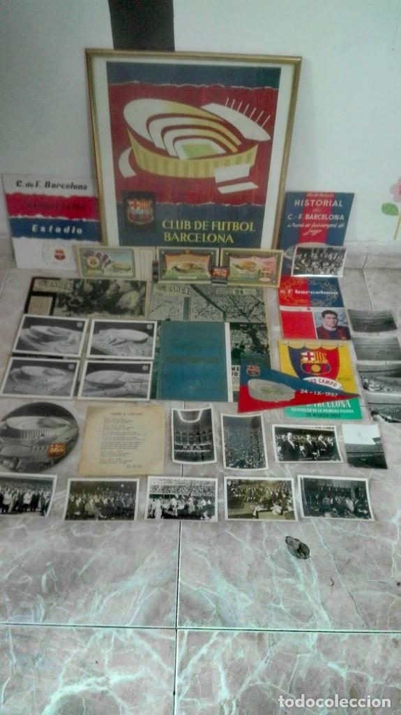 Coleccionismo deportivo: Espectacular lote con motivo de la Inauguración del Camp Nou en 1957 - Foto 6 - 155867590