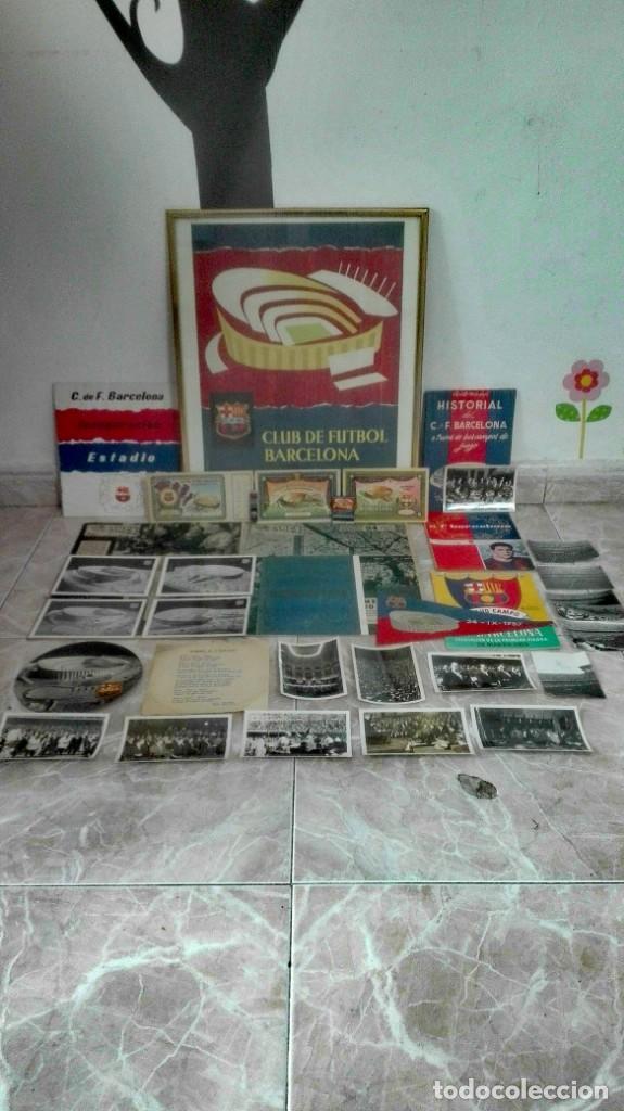 Coleccionismo deportivo: Espectacular lote con motivo de la Inauguración del Camp Nou en 1957 - Foto 7 - 155867590