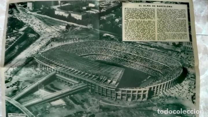 Coleccionismo deportivo: Espectacular lote con motivo de la Inauguración del Camp Nou en 1957 - Foto 8 - 155867590