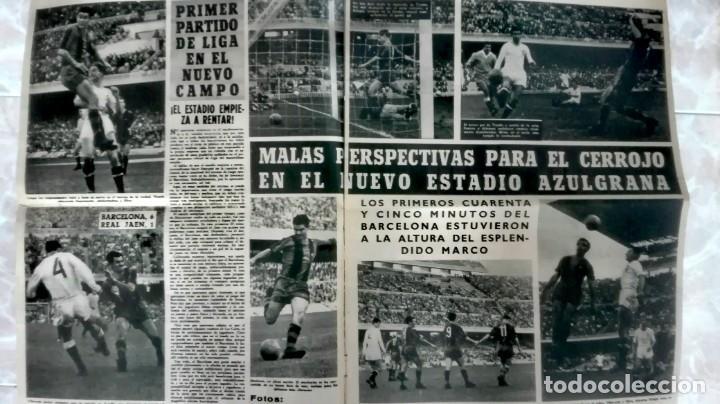 Coleccionismo deportivo: Espectacular lote con motivo de la Inauguración del Camp Nou en 1957 - Foto 11 - 155867590