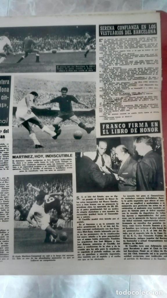 Coleccionismo deportivo: Espectacular lote con motivo de la Inauguración del Camp Nou en 1957 - Foto 12 - 155867590