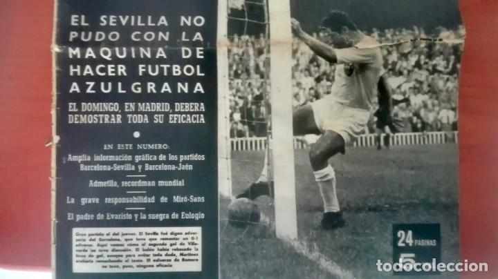 Coleccionismo deportivo: Espectacular lote con motivo de la Inauguración del Camp Nou en 1957 - Foto 13 - 155867590