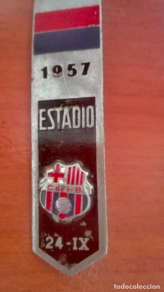 Coleccionismo deportivo: Espectacular lote con motivo de la Inauguración del Camp Nou en 1957 - Foto 17 - 155867590
