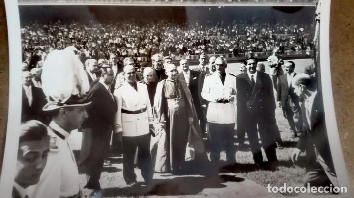 Coleccionismo deportivo: Espectacular lote con motivo de la Inauguración del Camp Nou en 1957 - Foto 24 - 155867590