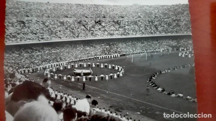Coleccionismo deportivo: Espectacular lote con motivo de la Inauguración del Camp Nou en 1957 - Foto 34 - 155867590