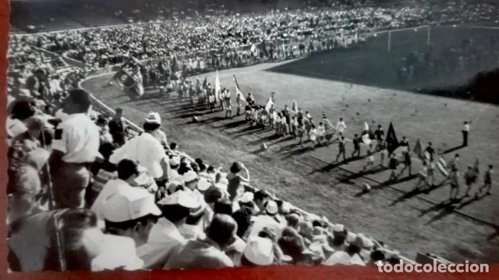 Coleccionismo deportivo: Espectacular lote con motivo de la Inauguración del Camp Nou en 1957 - Foto 35 - 155867590