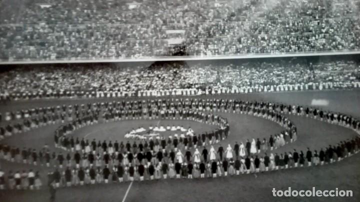 Coleccionismo deportivo: Espectacular lote con motivo de la Inauguración del Camp Nou en 1957 - Foto 37 - 155867590