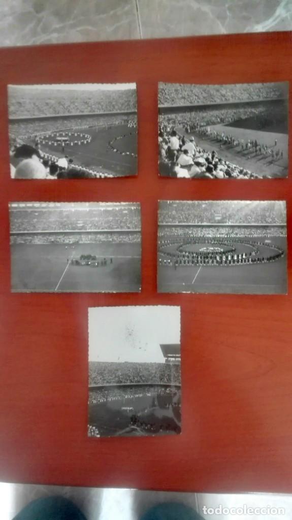 Coleccionismo deportivo: Espectacular lote con motivo de la Inauguración del Camp Nou en 1957 - Foto 39 - 155867590