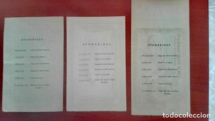 Coleccionismo deportivo: Espectacular lote con motivo de la Inauguración del Camp Nou en 1957 - Foto 41 - 155867590