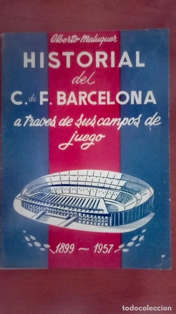 Coleccionismo deportivo: Espectacular lote con motivo de la Inauguración del Camp Nou en 1957 - Foto 46 - 155867590