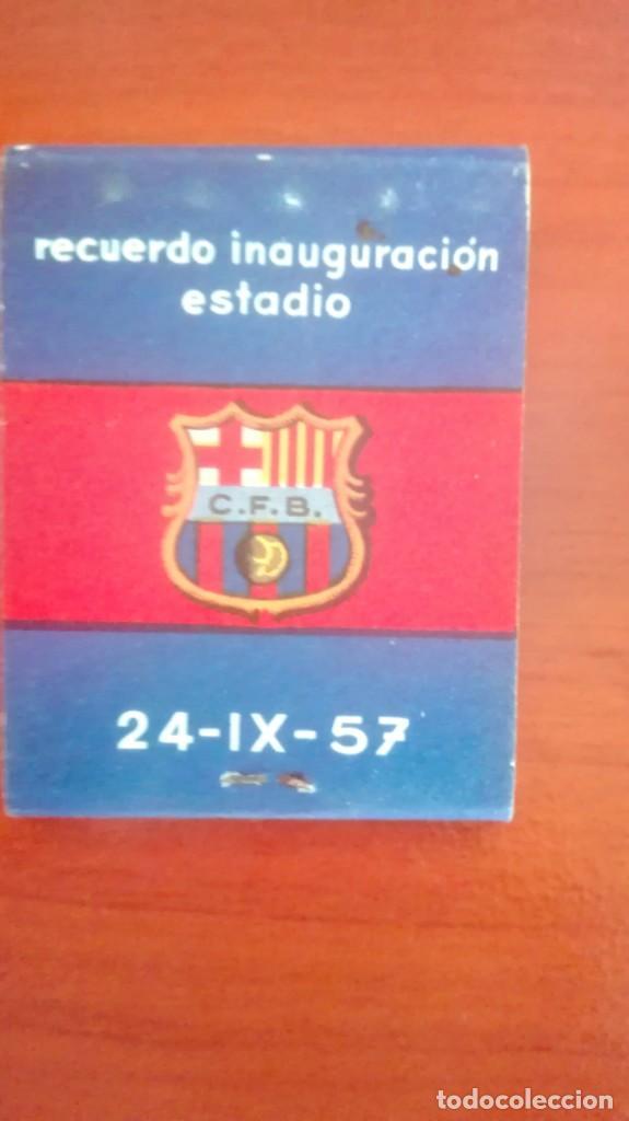 Coleccionismo deportivo: Espectacular lote con motivo de la Inauguración del Camp Nou en 1957 - Foto 53 - 155867590