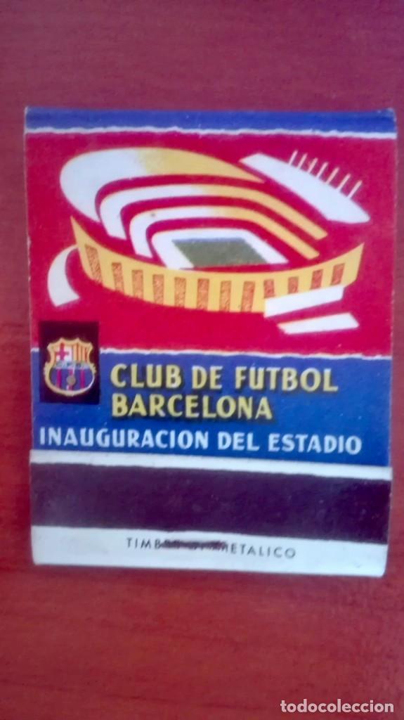 Coleccionismo deportivo: Espectacular lote con motivo de la Inauguración del Camp Nou en 1957 - Foto 54 - 155867590