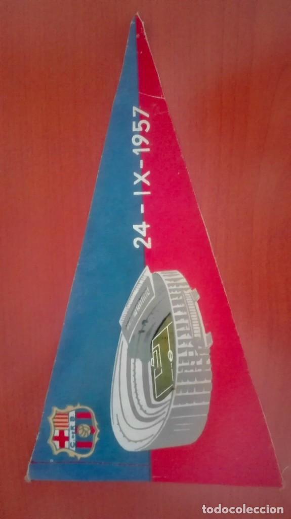Coleccionismo deportivo: Espectacular lote con motivo de la Inauguración del Camp Nou en 1957 - Foto 58 - 155867590