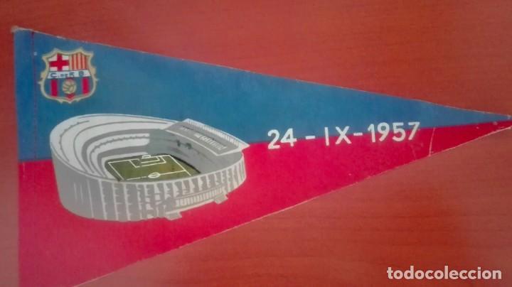Coleccionismo deportivo: Espectacular lote con motivo de la Inauguración del Camp Nou en 1957 - Foto 59 - 155867590