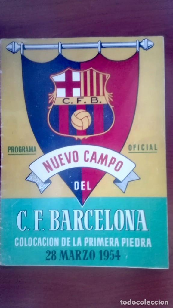Coleccionismo deportivo: Espectacular lote con motivo de la Inauguración del Camp Nou en 1957 - Foto 61 - 155867590