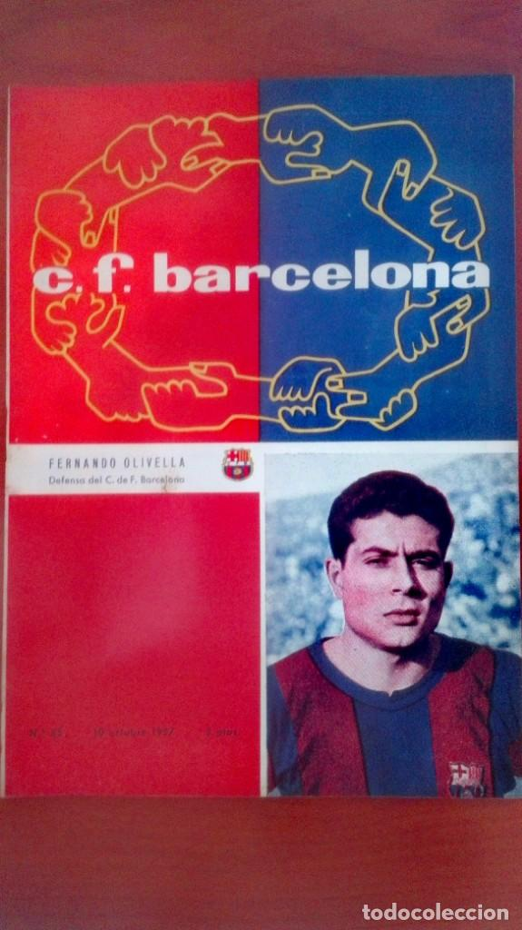 Coleccionismo deportivo: Espectacular lote con motivo de la Inauguración del Camp Nou en 1957 - Foto 63 - 155867590