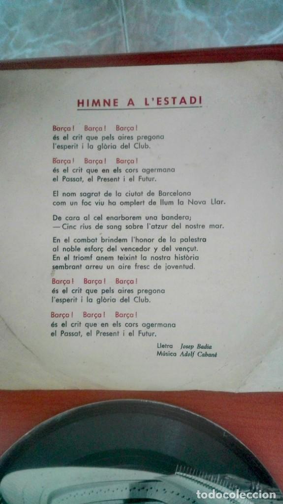 Coleccionismo deportivo: Espectacular lote con motivo de la Inauguración del Camp Nou en 1957 - Foto 68 - 155867590