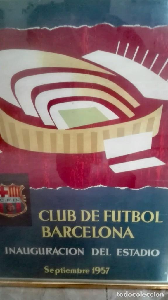 Coleccionismo deportivo: Espectacular lote con motivo de la Inauguración del Camp Nou en 1957 - Foto 69 - 155867590