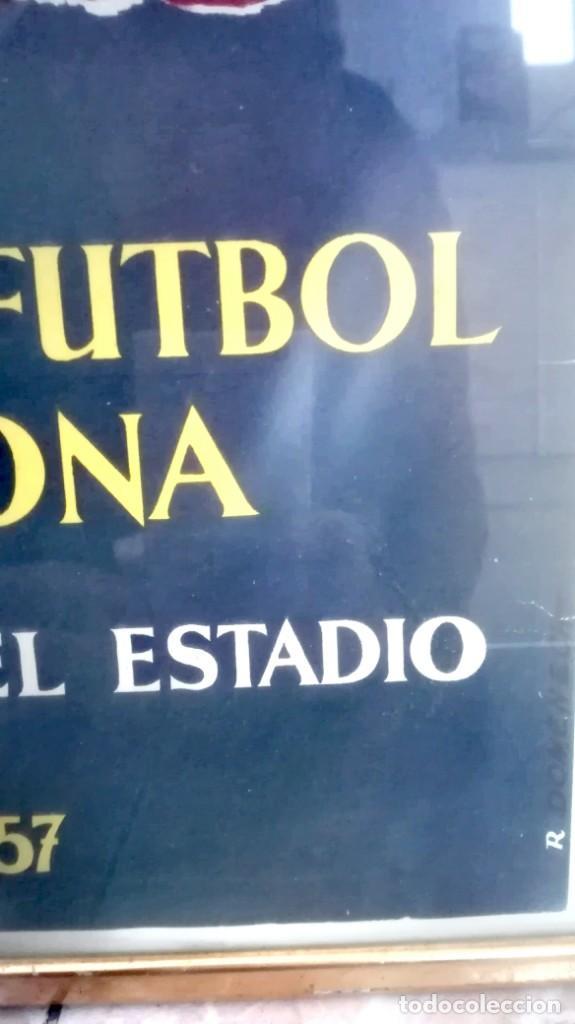 Coleccionismo deportivo: Espectacular lote con motivo de la Inauguración del Camp Nou en 1957 - Foto 70 - 155867590