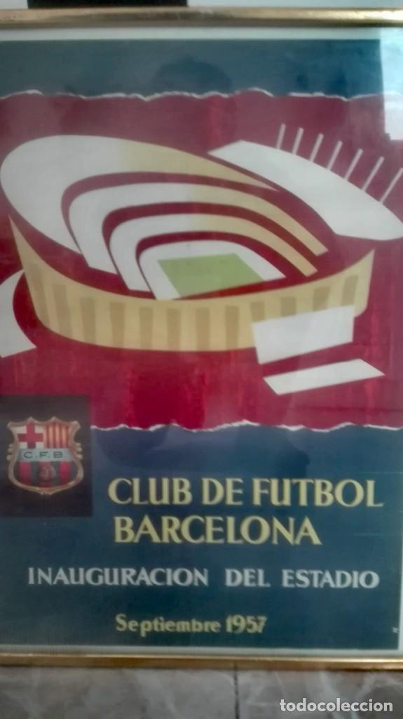 Coleccionismo deportivo: Espectacular lote con motivo de la Inauguración del Camp Nou en 1957 - Foto 72 - 155867590