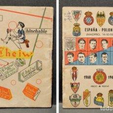 Coleccionismo deportivo: CALENDARIO DE FÚTBOL DINÁMICO EDD AÑO 1960 -1961 -. Lote 156515054