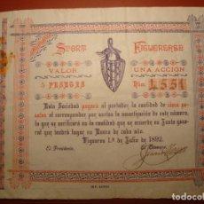 Coleccionismo deportivo: FIGUERENSE SPORT. Lote 156765270