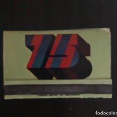 Coleccionismo deportivo: ANTIGUA CERILLAS 75 ANIVERSARIO FC BARCELONA 1899-1974. Lote 157234386